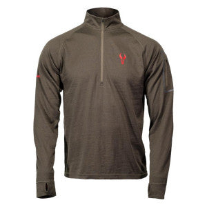 Badlands Ovis 1/4 Zip Crew