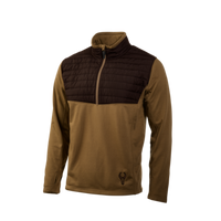 Badlands Moose Quilt 1/4 Zip Jacket