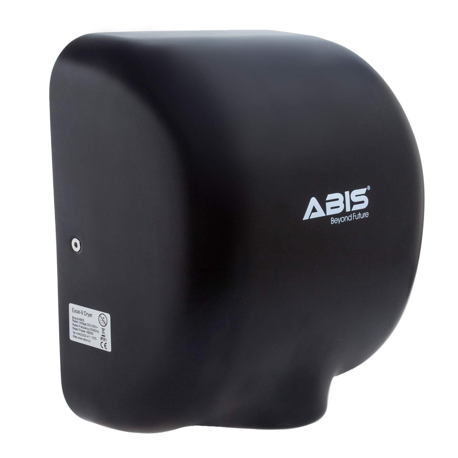 Excel-9 Stainless Steel Commercial Hand Dryer - Black - ABIS