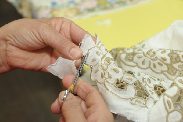 Making of Madeira Embroidery