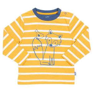 Stripy Yellow Long Sleeve T-Shirt -Little Cub
