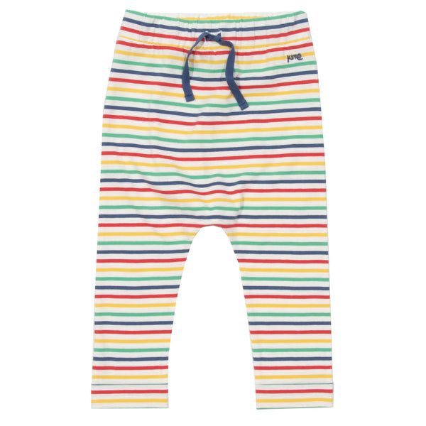 Stripy Carrot Pull up Pants