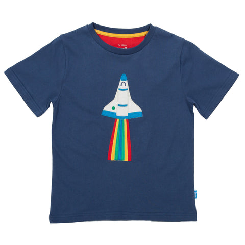 Blast Off Navy T-Shirt