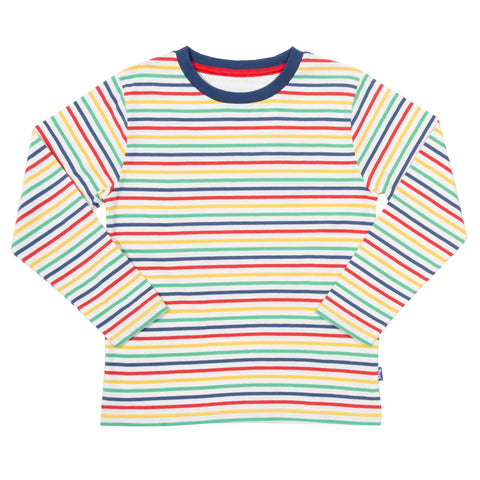 Long Sleeve Stripy T-Shirt [On Backorder]