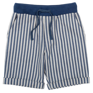 Ticking Turn-up Shorts