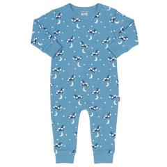 Hey Diddle Blue Romper