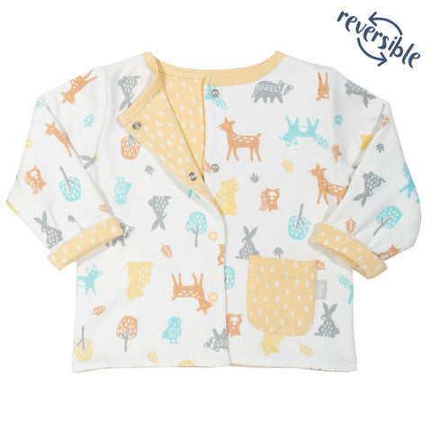 Woodland 2-in-1 Reversible Baby Jacket