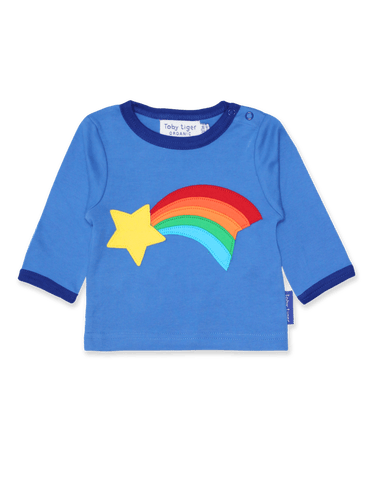 Shooting Star Applique T-Shirt