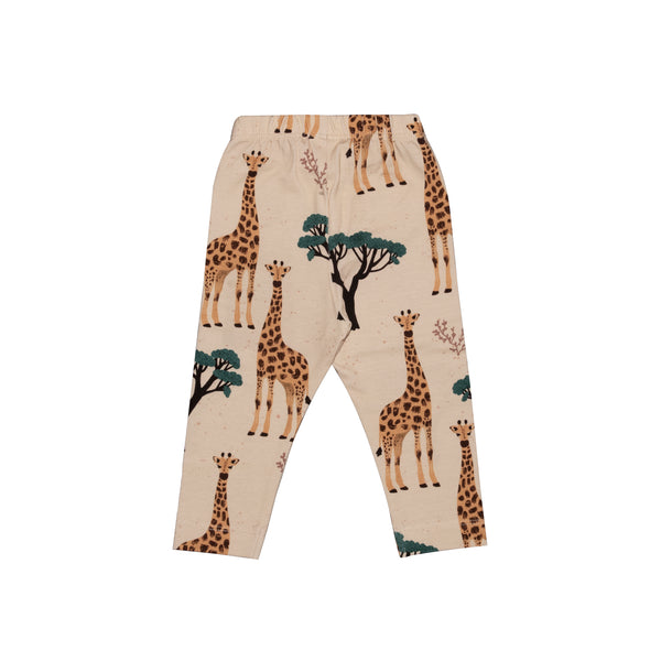 Full Length Leggings -Giraffes Print