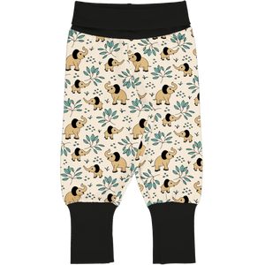 Trousers/Pants Rib -Elephant Garden Print-