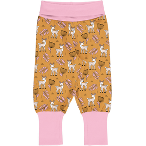 Trousers/Pants Rib -Poppy Deer Print-