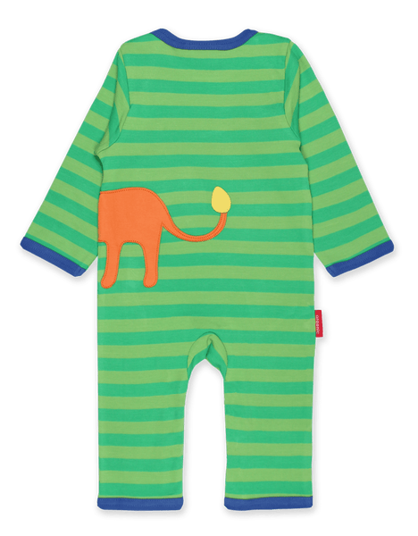 Walking Lion Applique Sleepsuit