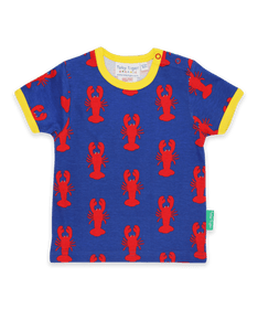 Red Lobsters Print T-Shirt