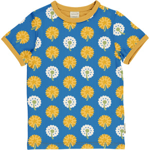 Short Sleeve Shirt -Dandelion Print