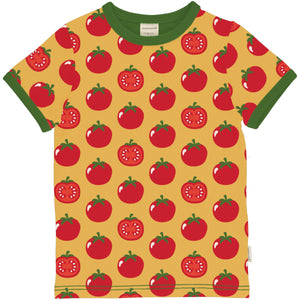 Short Sleeve T-Shirt -Tomato Print