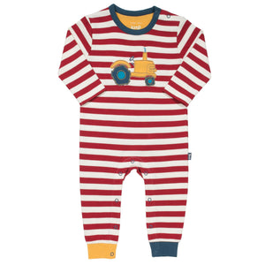 Tractor Romper Long Sleeve