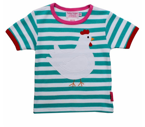 Chicken Appliqué T-Shirt