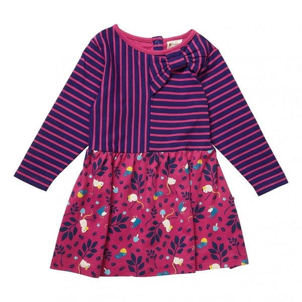 Purple Mouse Bow Dress