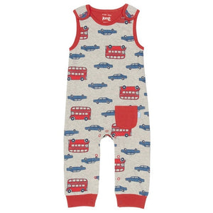 One Red Pocket London Transport Baby Jumper (Dungarees)