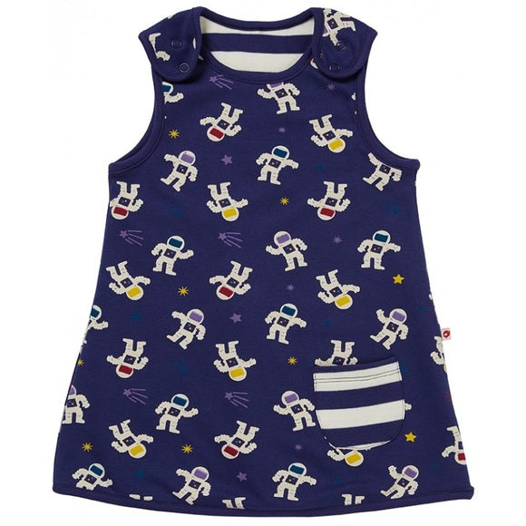 Blue Astronaut Reversible Dress