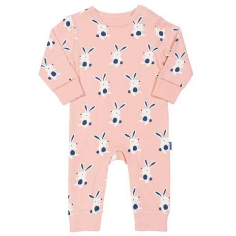 Dusty Pink Happy Hare Romper