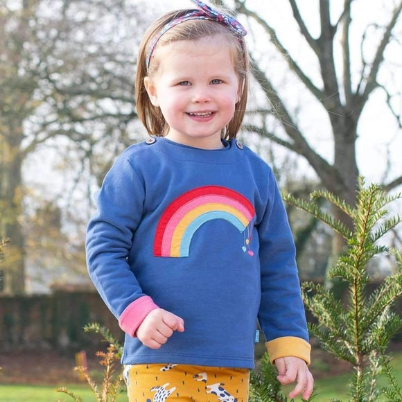 Organic Cotton Rainbow Sweatshirt