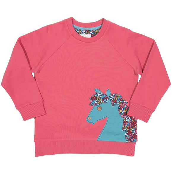 Pony Applique Sweatshirt