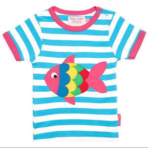Fish Applique T-Shirt