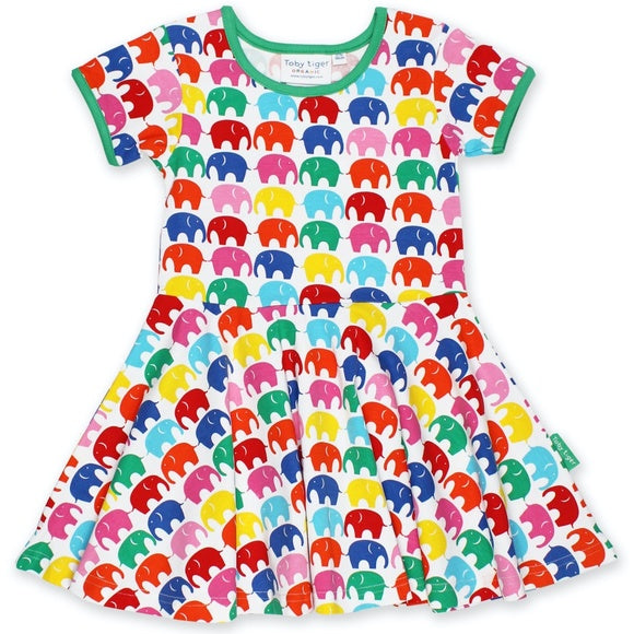 Rainbow Ellie Skater Dress
