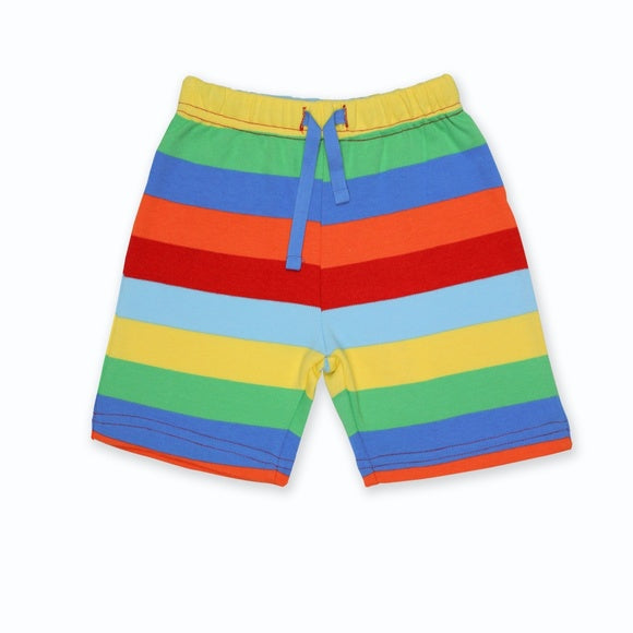 Multi-Stripe Shorts