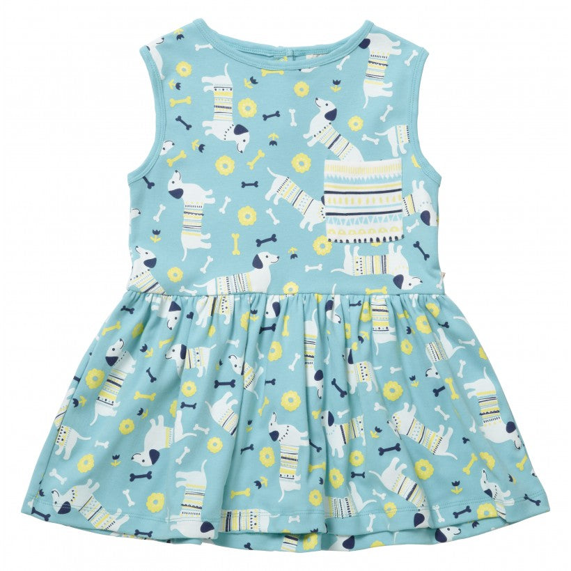 Sausage Dog Print Dress
