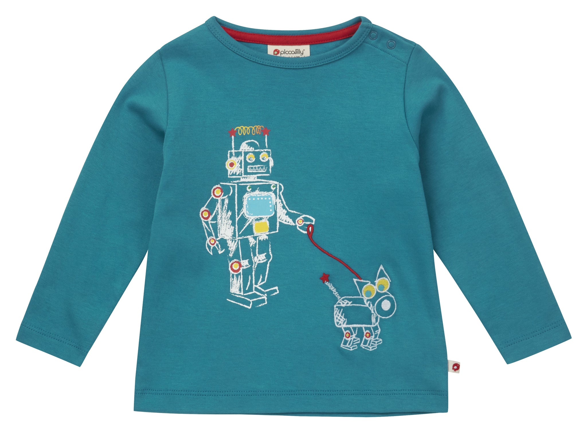 Robot Long Sleeve Top