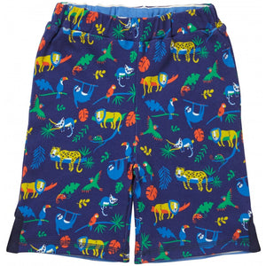 Reversible Safari Blue Shorts