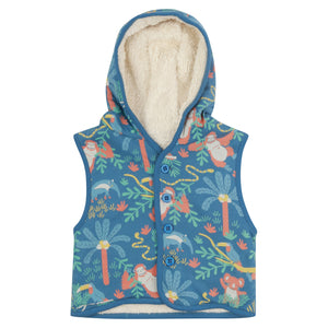 Rainforest Gilet/Hodded vest