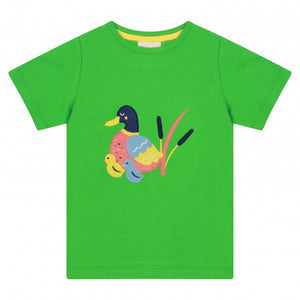 Duck Green T-Shirt -Piccalilly