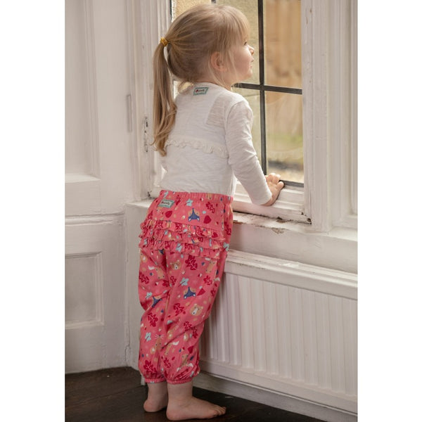 Ruffle Pink Trousers -Forest Fairytale
