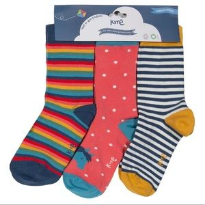 Pony Stripes Socks 3-pack