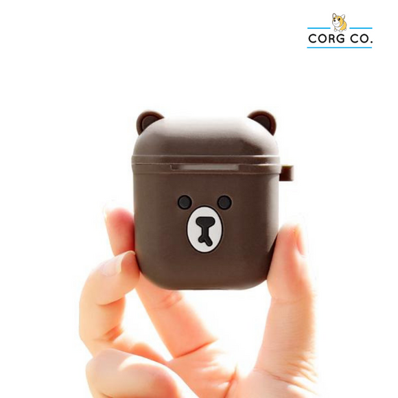 Bearpods - Cute Bear Airpods Cases by Corg Co.
