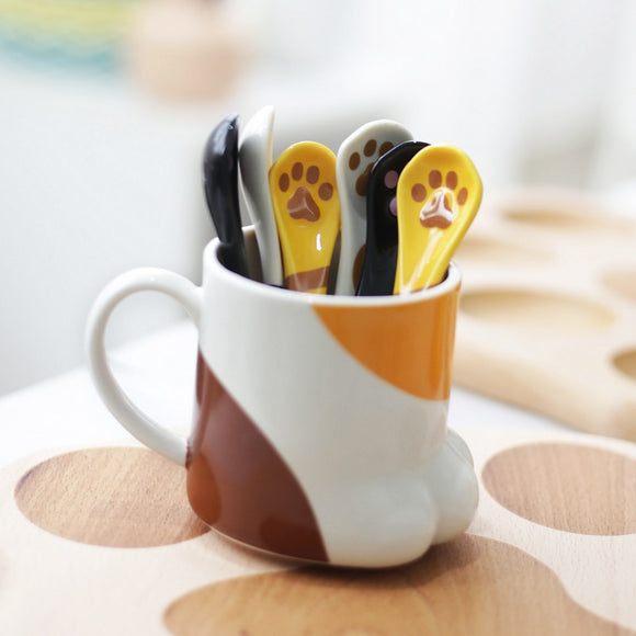 Cute Cat Paw Mug