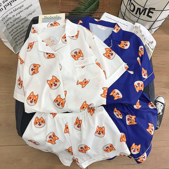 Kawaii Corgi Pajamas - Corg Co.