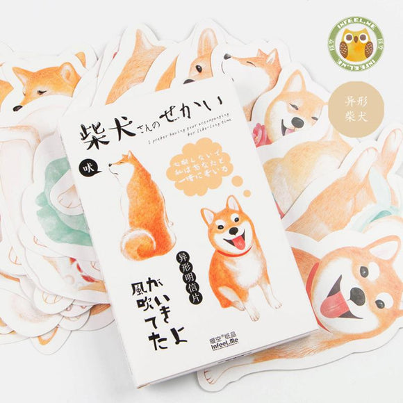 Shiba Inu Valentines/ Birthday /Gift Cards ( Pack of 30) - Corg Co.