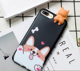 Cute Corgi iPhone Case with a 3D Printed Corgi - Corg Co.