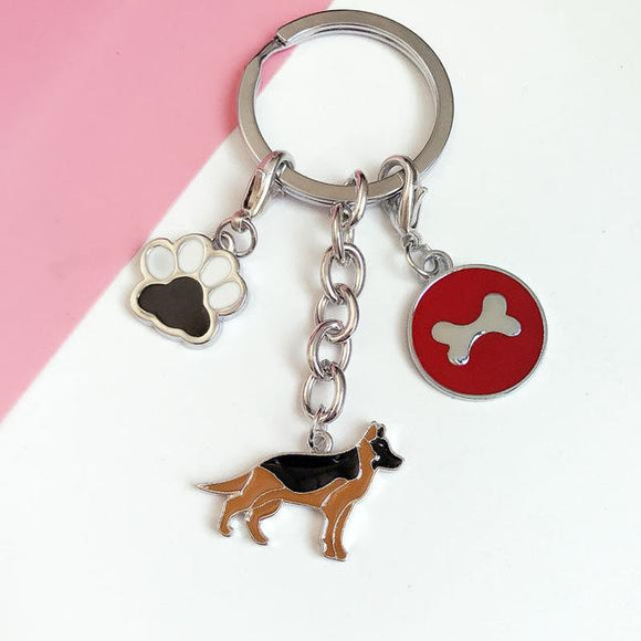 Cute Dog Keychains (Corgis, Pugs, Yorkies, German Shepards, and more!) - Corg Co.