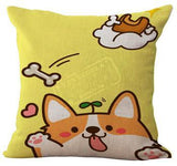 Cute Corgi Pillow Cases - Corg Co.