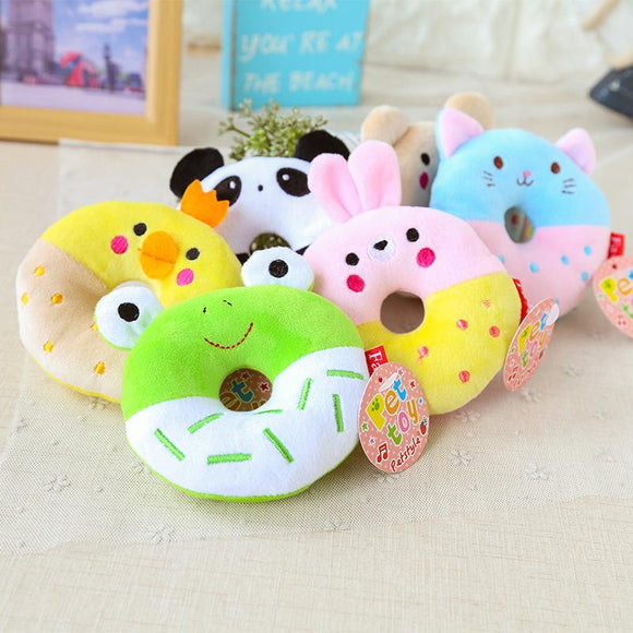 Plush Donut Chew Toys - Corg Co.