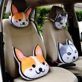 Cute Doggy Pillows and Headrests - Corg Co.
