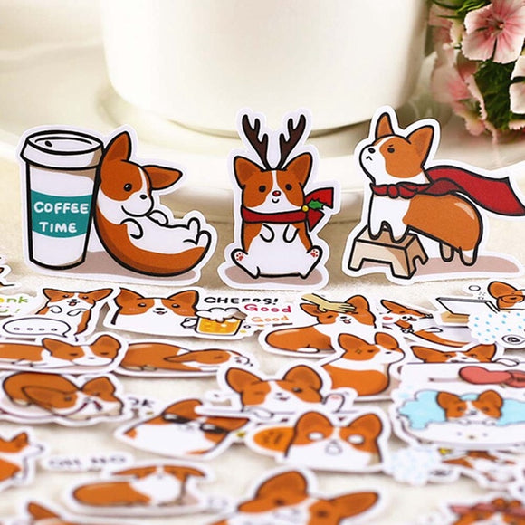 Corgi Stickers - Corg Co.