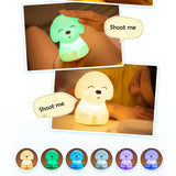 Colorful Puppy Night Light - Corg Co.