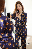 Cute Cartoon Bear Pajamas - Corg Co.