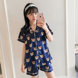 Cute Cartoon Bear Pajamas